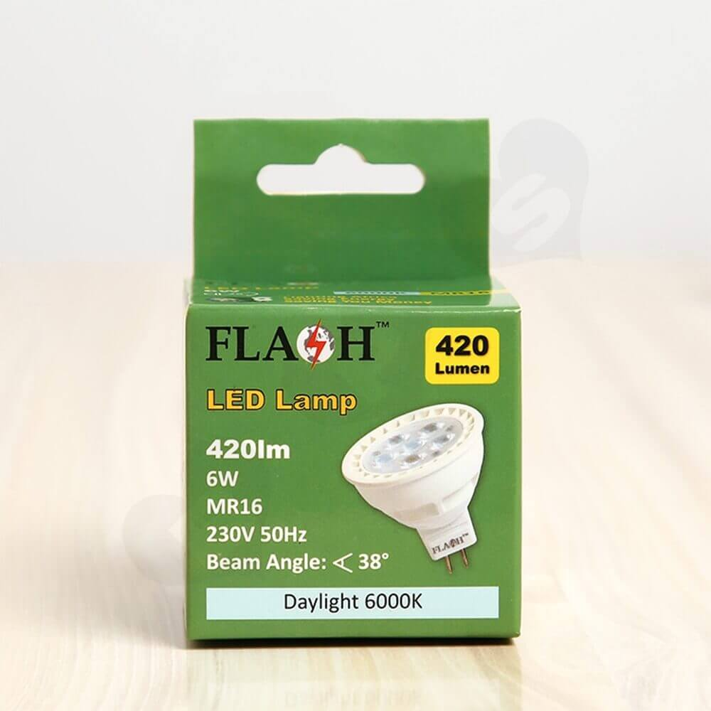 Folding Carton With Hanger For LED Lamp Side View Three