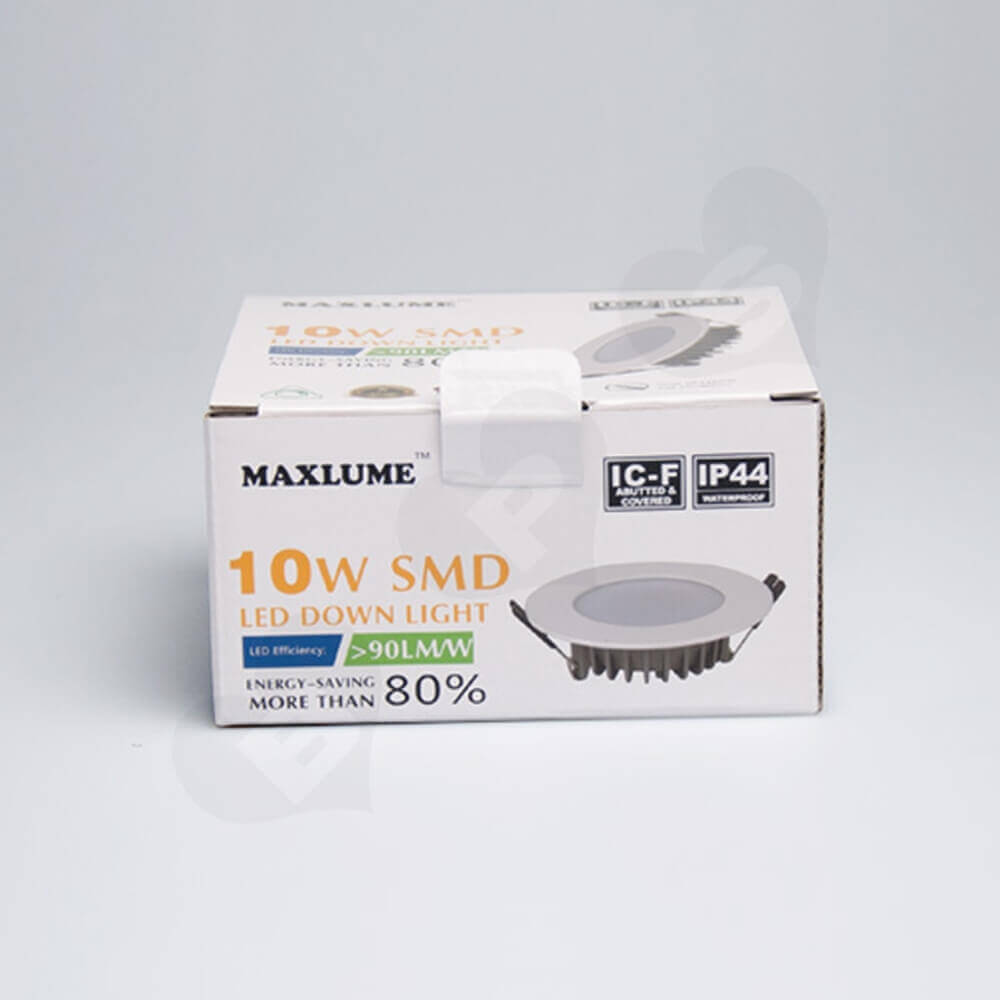 High Quality LED Down Light Packaging Box Side View Six