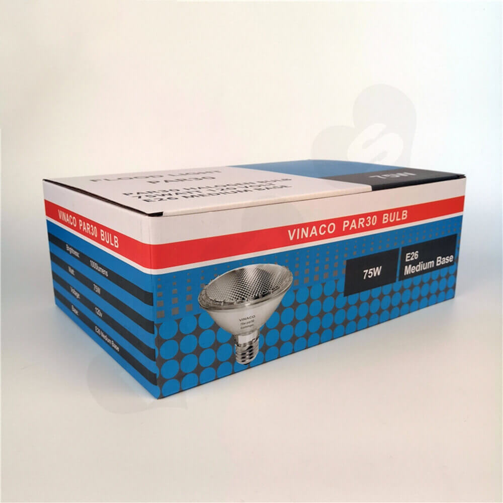 Offset Printing Packaging Box For Flood Light Side View Five