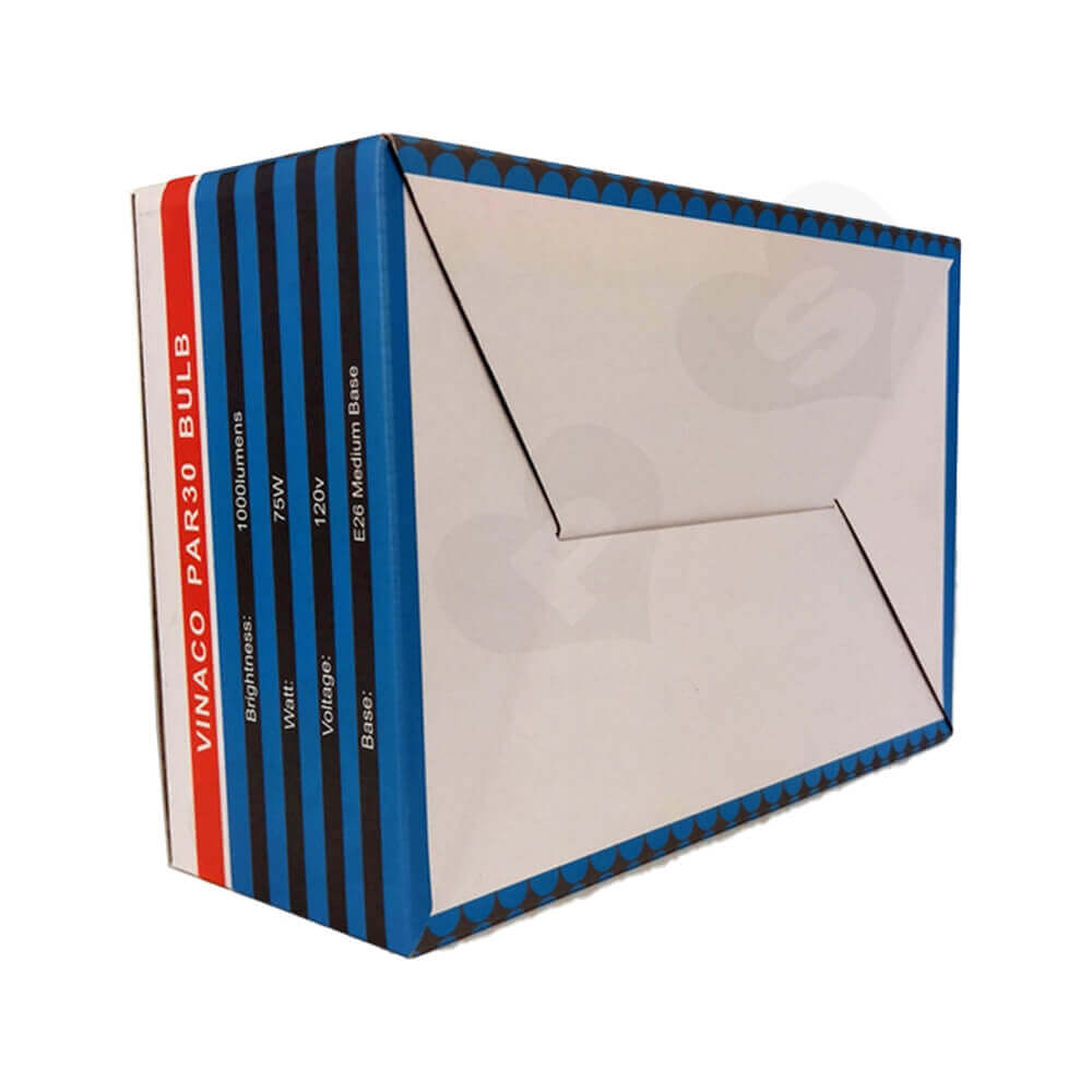 Offset Printing Packaging Box For Flood Light Side View Four