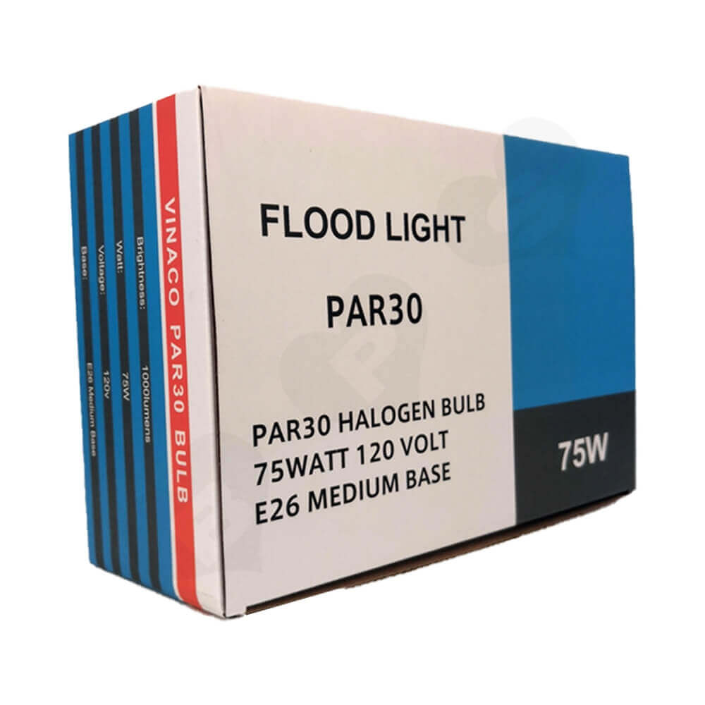 Offset Printing Packaging Box For Flood Light Side View Three