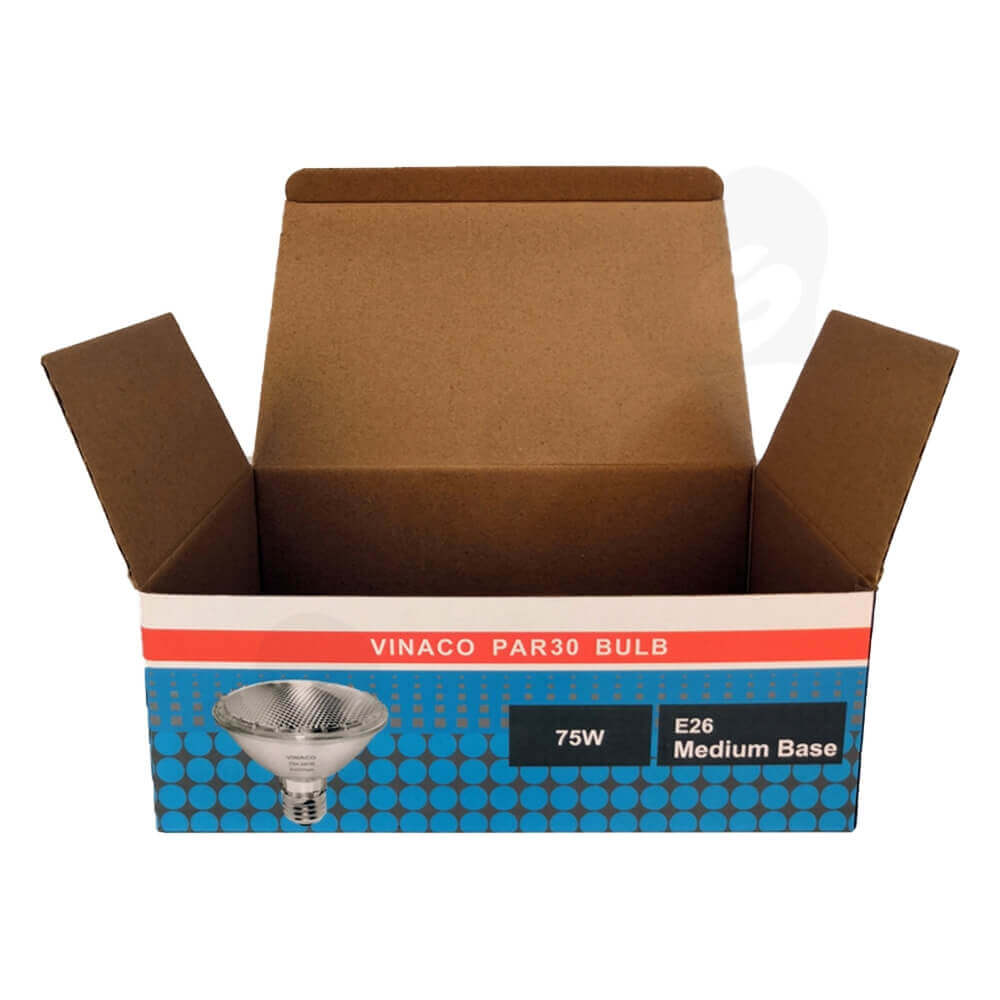 Offset Printing Packaging Box For Flood Light Side View Two