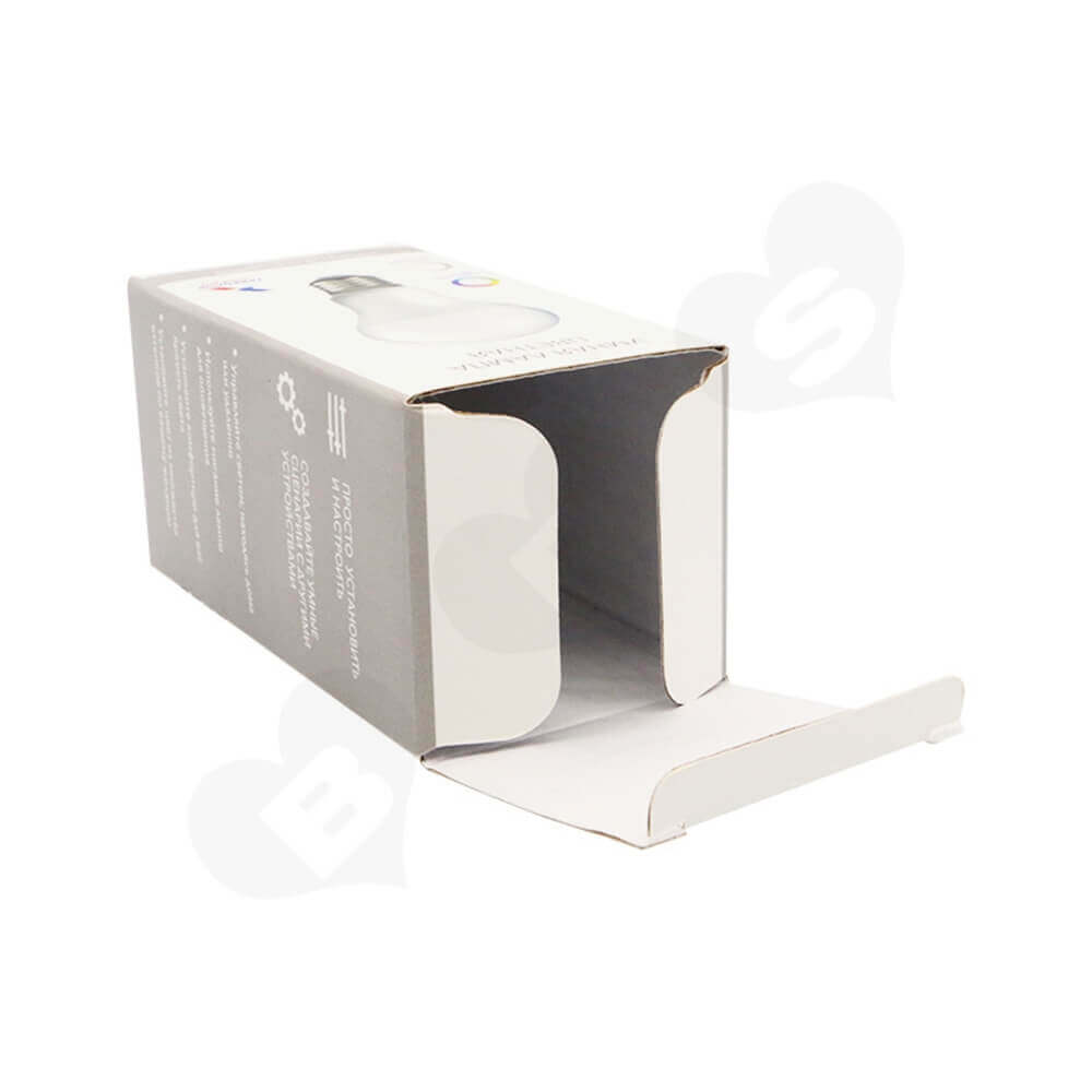 Smart LED Light Packaging Box Side View Two
