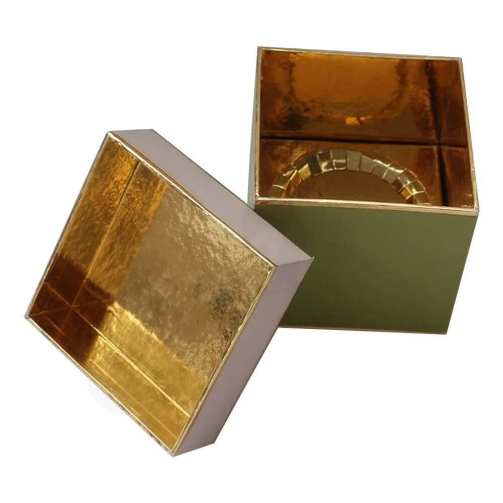 Specialty Paper Made Coffee Mug Box Side View Three