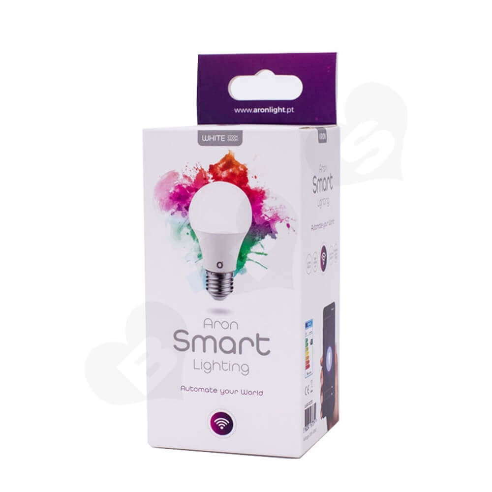 WIFI Smart LED Light Packaging Box Side View Two