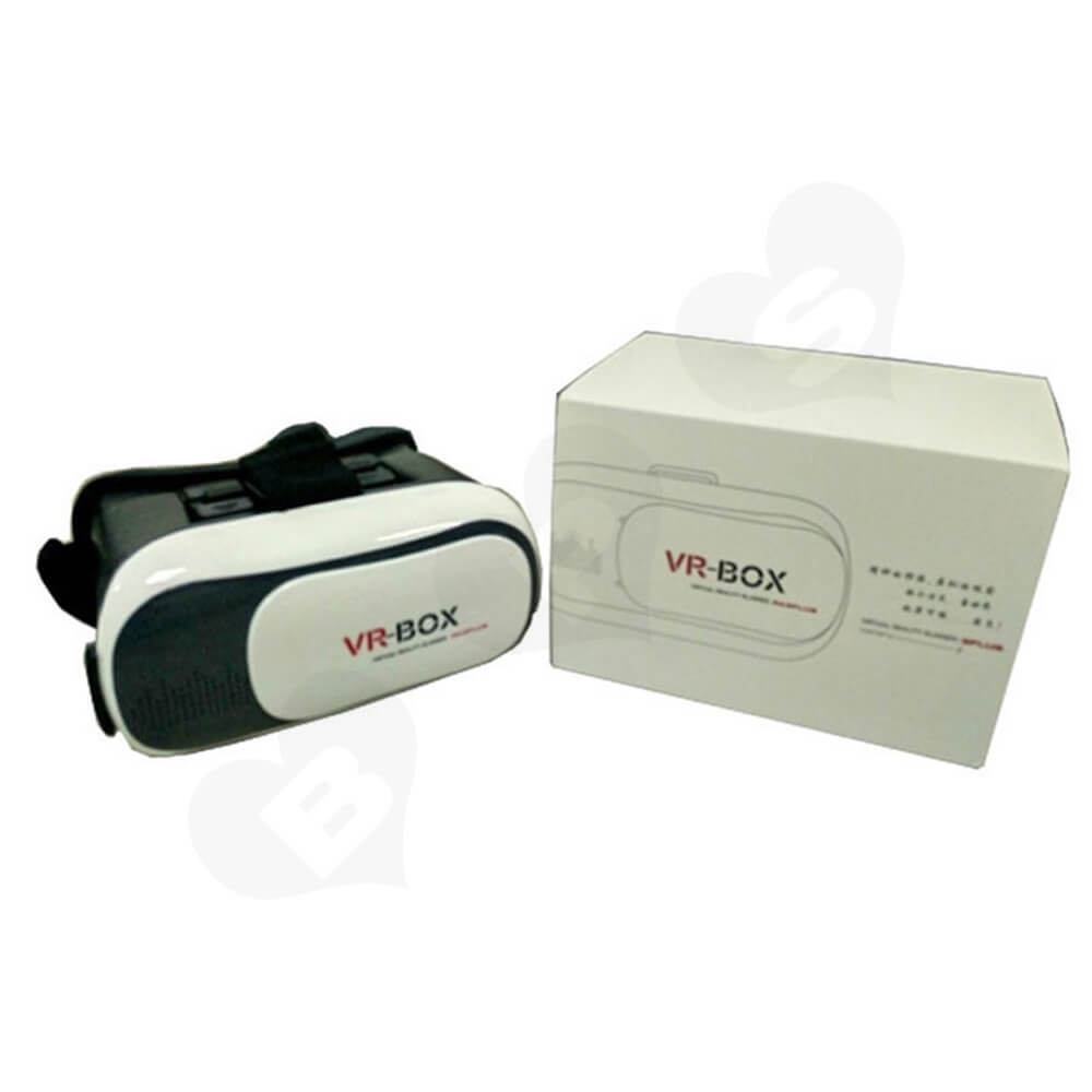 Custom Printed Box With Sleeve For VR Headset Side View Five