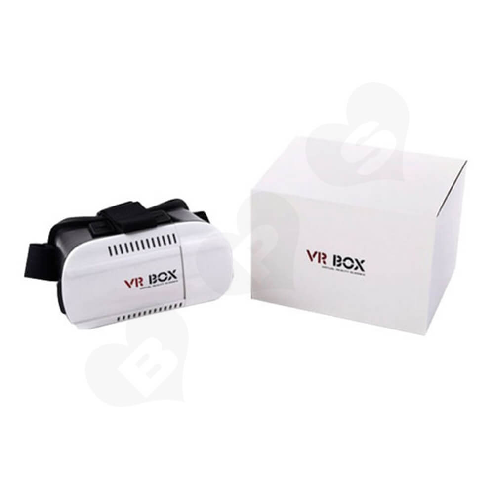 Custom Printed Box With Sleeve For VR Headset Side View Three
