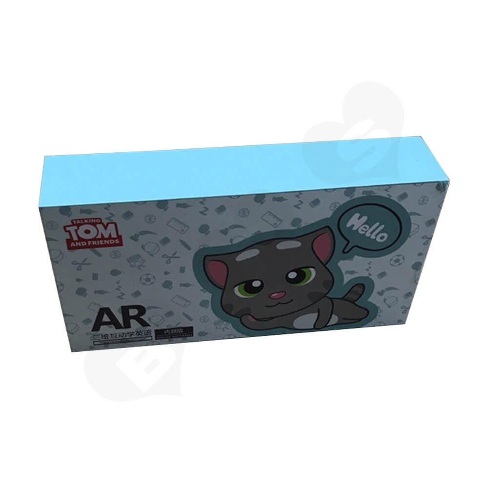 Rigid Box With Lift Off Lid For AR Goggles Side View Two