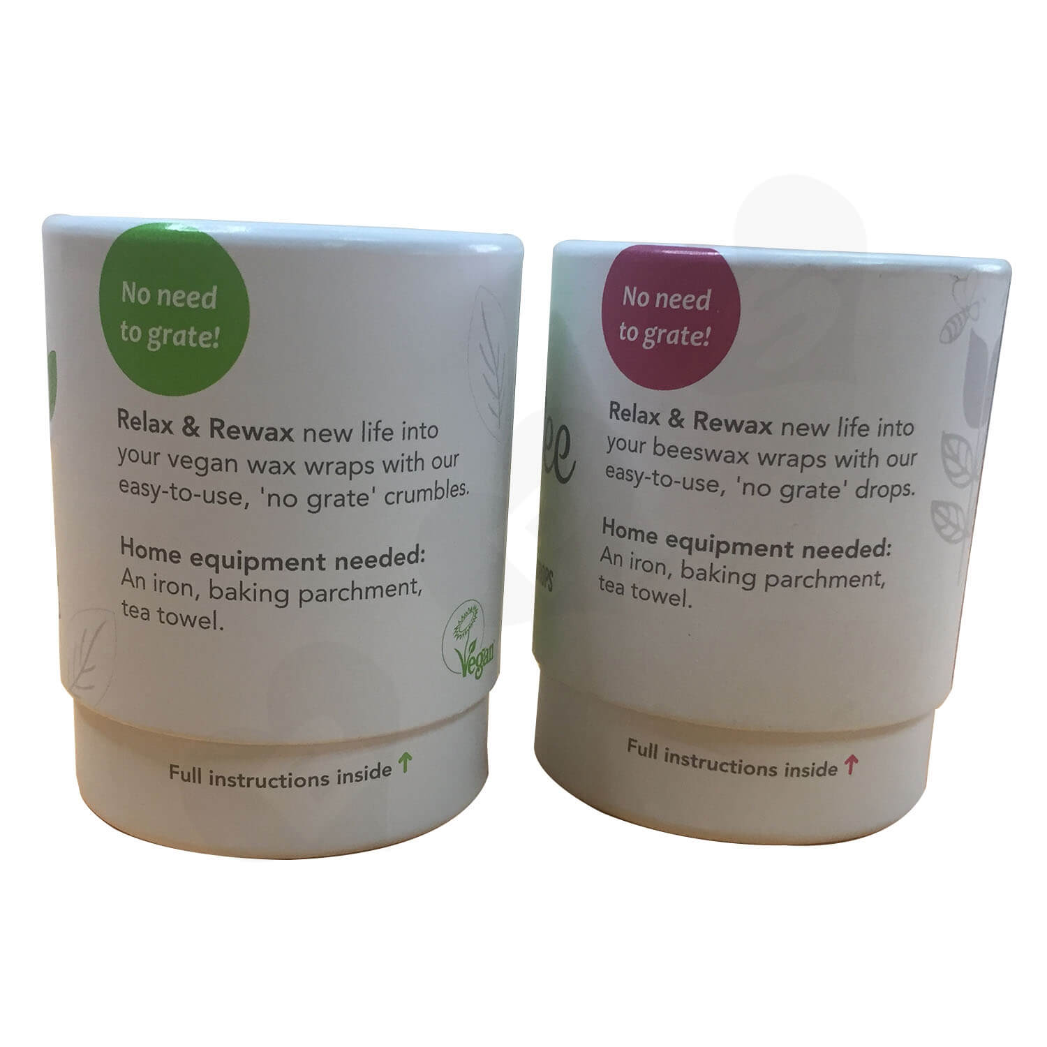 100 Recyled Two Piece Lift off lid Printed Tube Side View 2