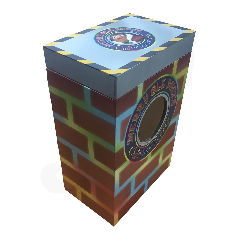 Custom Novelty Toy Christmas Gift Rigid Box Side View 3