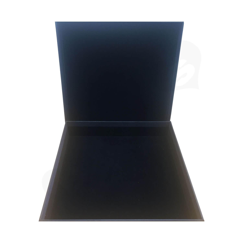 Custom POWER CABLES Textured Rigid Black box Side View 4