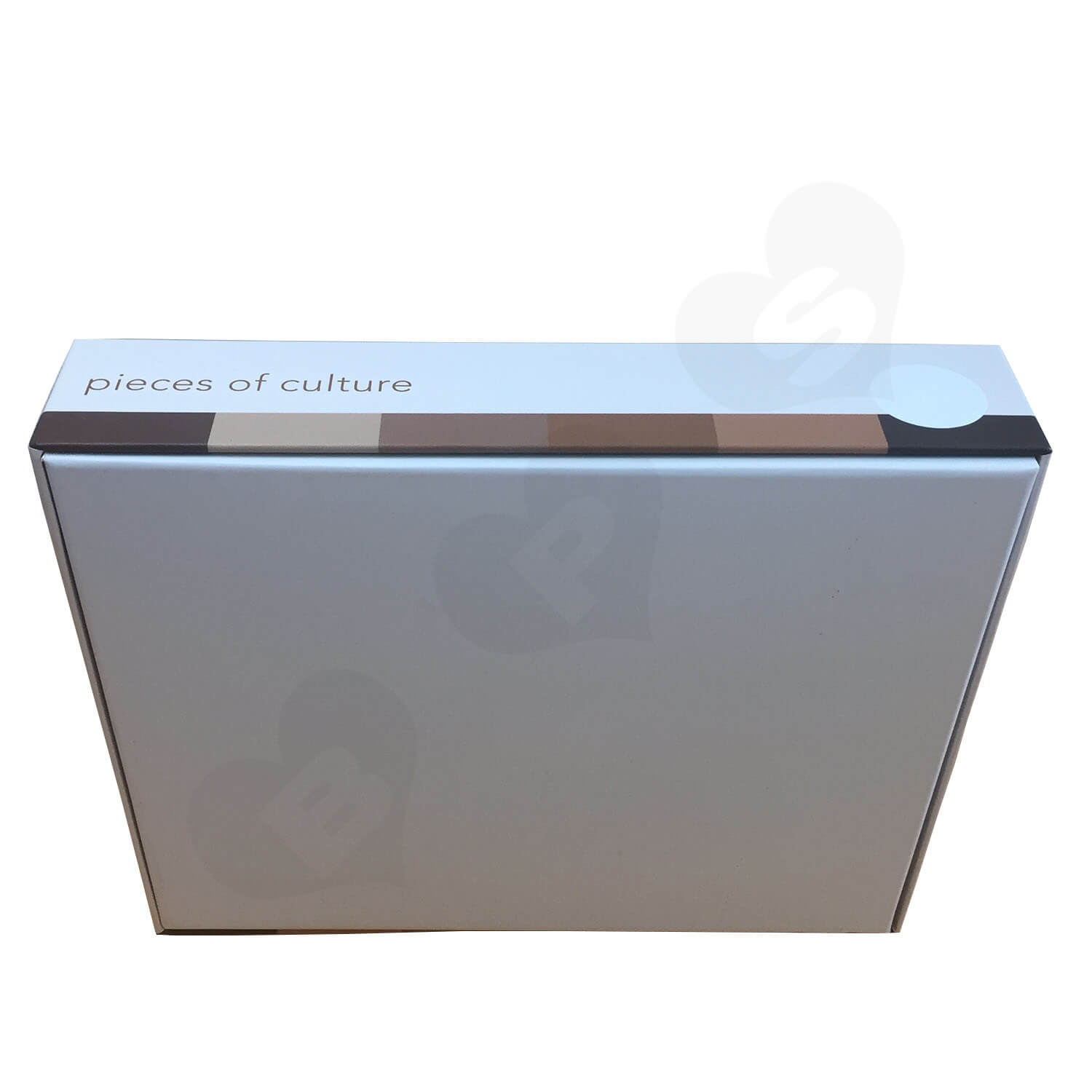 Custom Printed Lift off Lid Puzzle Boxes With PVC Window Side View 5