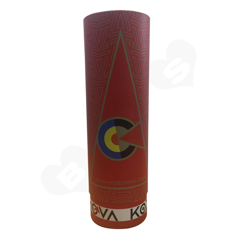 Custom Printing Cardboard Telescopic Tubes For Wine Side View 2