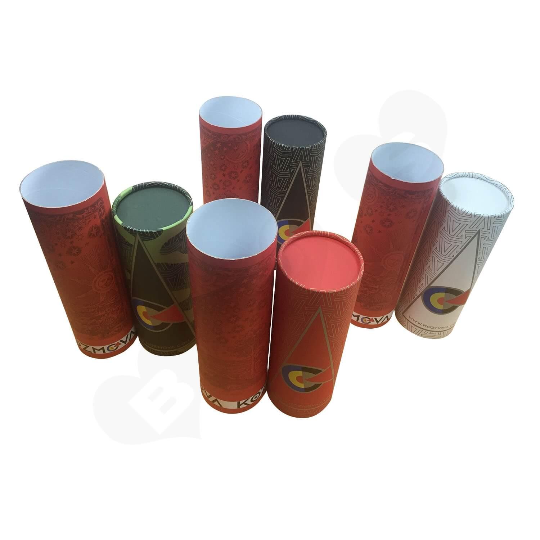Custom Printing Cardboard Telescopic Tubes For Wine Side View 5