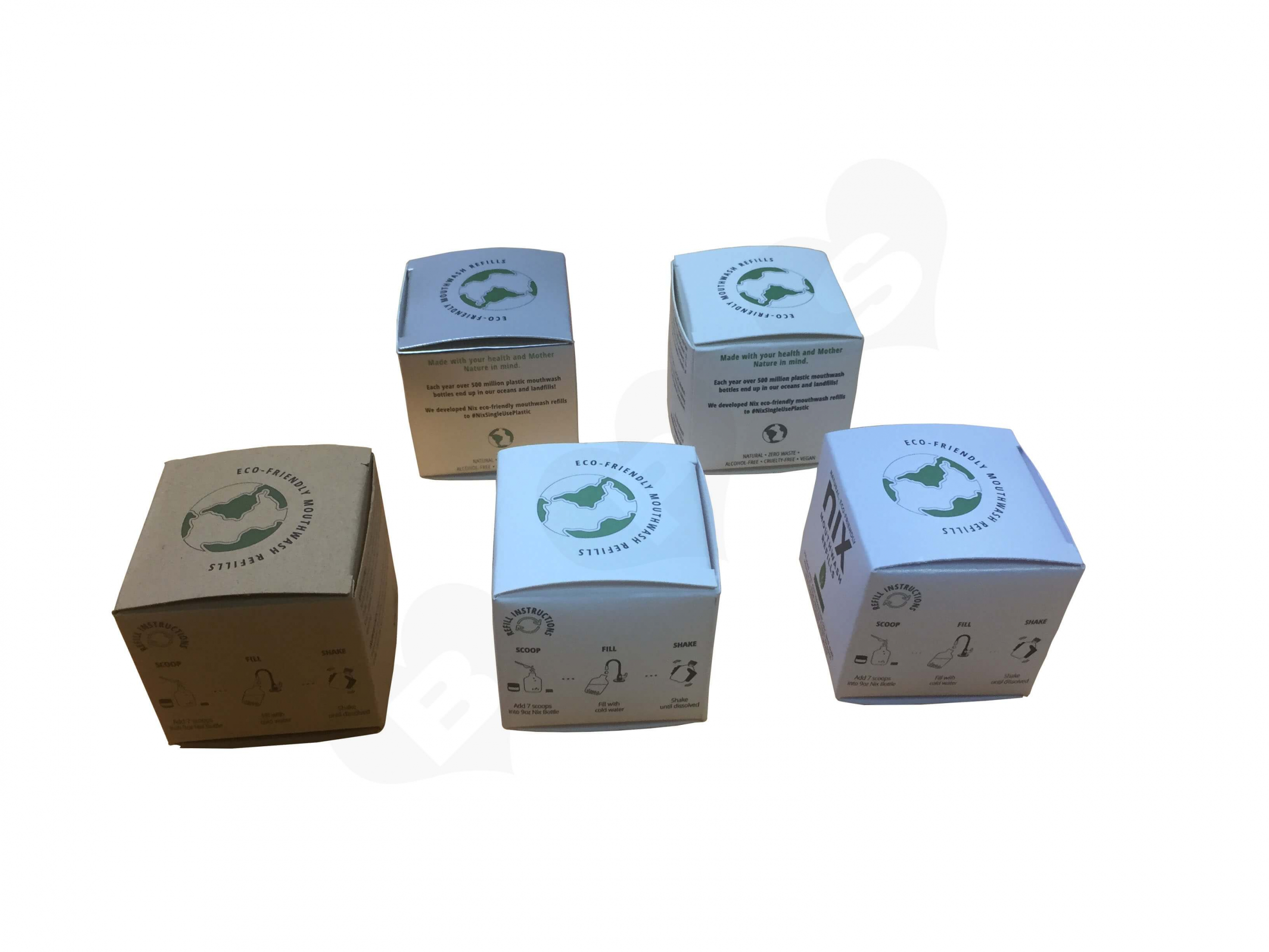 Different Type Print Custom Product Boxes For Retail Side View 3