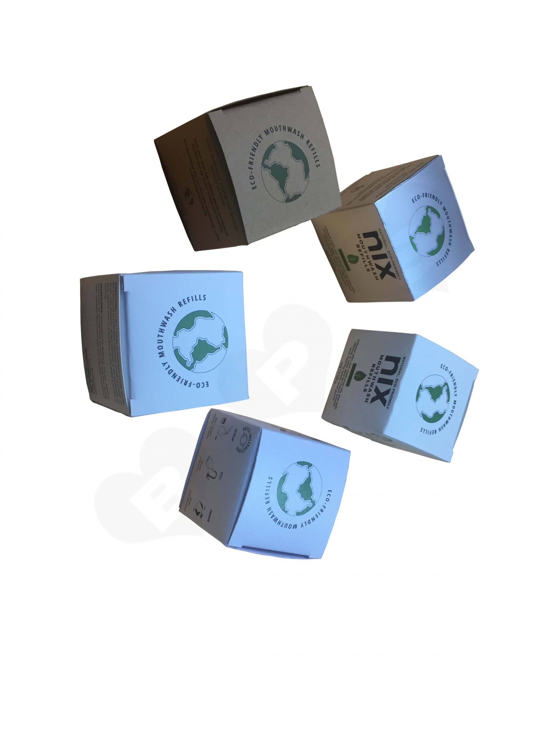 Different Type Print Custom Product Boxes For Retail Side View 4