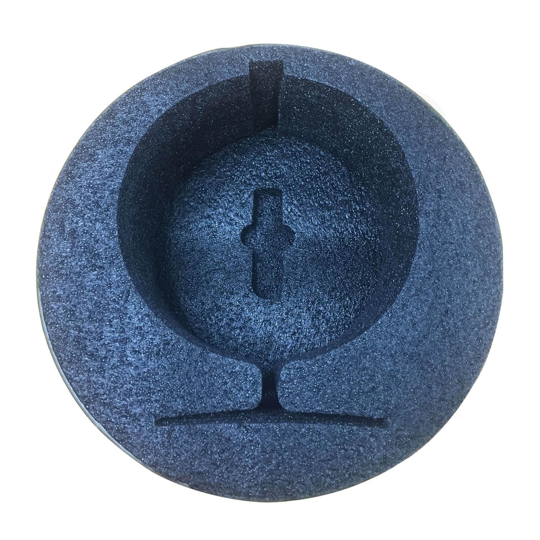 ECO Fan Custom Kraft Tube With Die Cut Foam Insert Side View 5