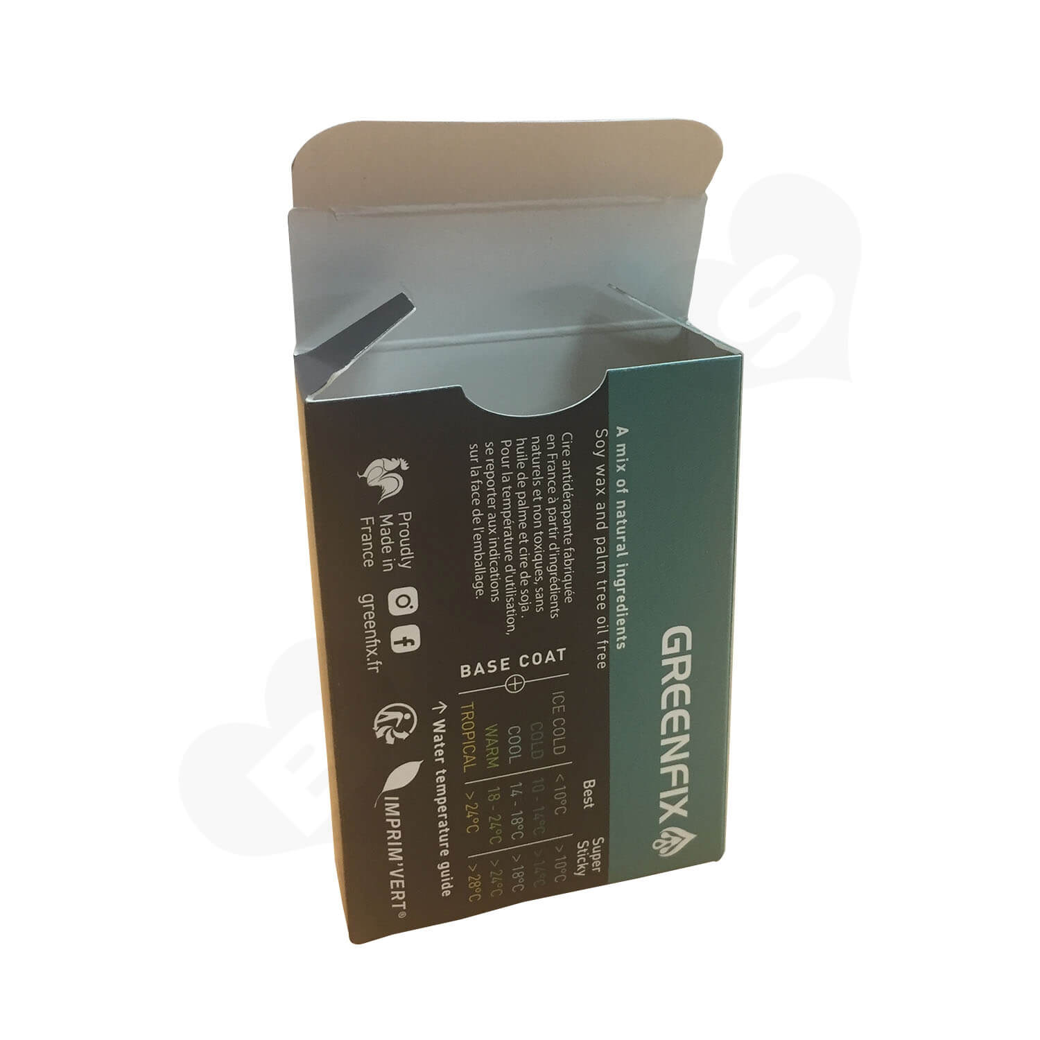 Folding Color Printing Paperboard Packaging Box Side View 2