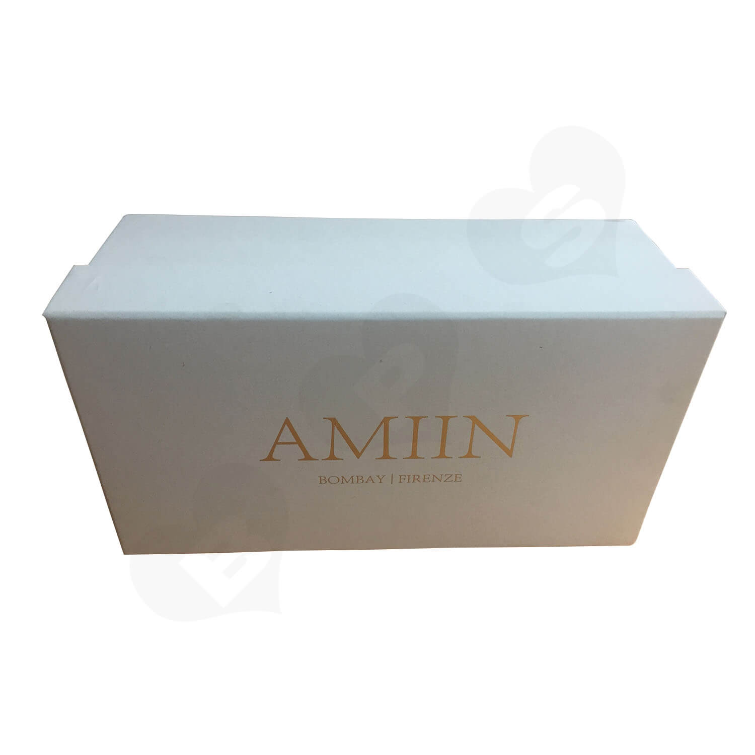 Specialty Paper Gold Foil Logo Stamped Shoe box Side View 5